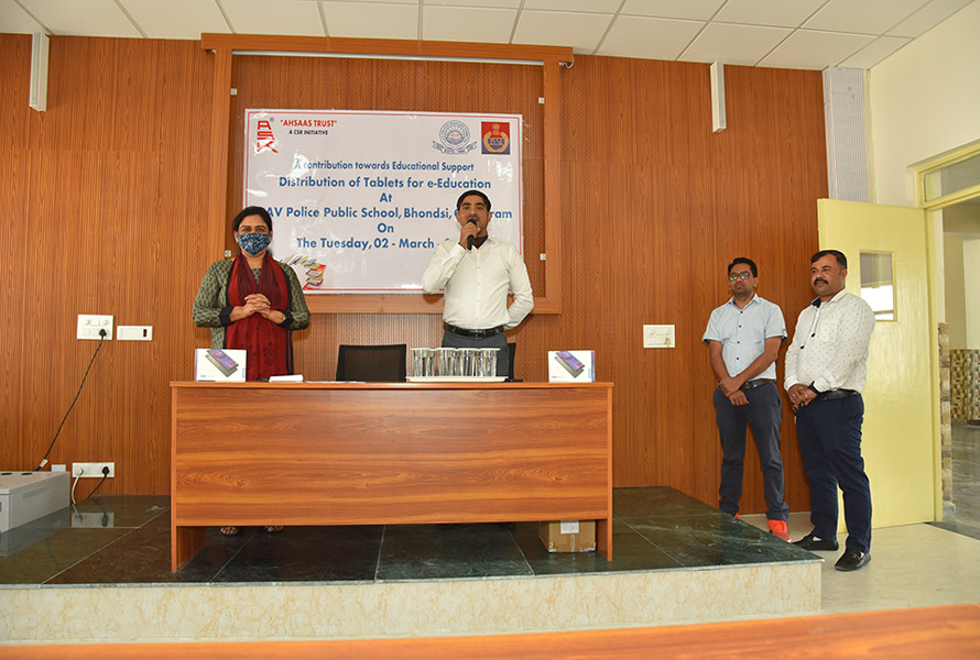 Ahsaas joins hands with DAV Public School