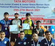 Rupin hits the Jackpot with his first wrestling Gold